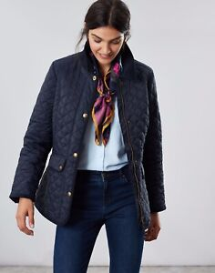 JOULES NEWDALE NAVY QUILTED JACKET NEW WITH TAGS