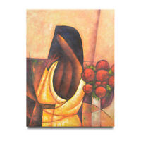 NY Art -  Cubist Portrait of a Woman 36x48 Large Oil Painting on Canvas - Sale!
