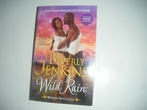 Wild Rain by Beverly Jenkins (2021 ARC Advance Reader's Copy) Women Who Dare #2