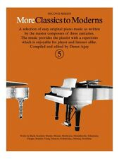 More Classics To Moderns 5 Learn to Play Present Gift MUSIC BOOK Piano