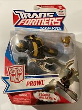 NEW MISB TRANSFORMERS  Animated Deluxe Class  PROWL New & Sealed