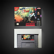 Earthworm Jim USA NTSC Version With Retail Box Action Game Super SNES Free Ship