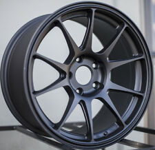 One Rim 17x9 Rota TITAN 5x100 +42 Flat Black Wheel