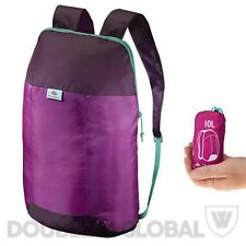 Quechua Arpenaz 10L Ultra Compact Backpack Ultra Light Foldable Rucksack Hiking