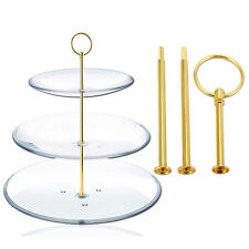 Hot Sale Metal Rod 3 Floor Tiered Wedding Cake for Cake Stand Cake Holder Pies