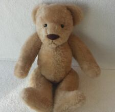 "Vintage Handcrafted ""Bearly There Co Tan Teddy Bear"