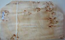 Poplar/Mapa burl burr Veneer  12 @ 65 cm by 35 cm    (1090)