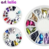 Nail Art 3D Crystal Rhinestones Glitter Gem DIY Gel Polish Tips Decoration