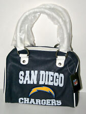 San Diego Chargers Logo NFL Football Slate Blue Handbag Purse Bag Bowler New Tag