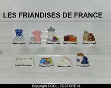 SERIE COMPLETE DE FEVES LES FRIANDISES DE FRANCE