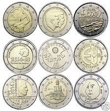 manueduc  2  EUROS  2014 10   Monedas Conmemorativos Emitidas Nuevas