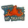 Disney Pin 116104 Hank New Rule No Talking ! Finding Dory Movie Septopus Free-D