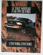FORD F-150 1997 dealer brochure - French - Canada - ST1002000418