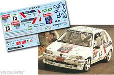 Decal 1:43 Sergio Vallejo - PEUGEOT 106 - Rally El Corte Ingles 1995