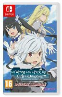 Is It Wrong to Try to Pick Up Girls in a Dungeon Infinite Combate Nintendo Sw...