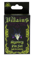 DISNEY VILLAINS MYSTERY COLLECTION (2 PINS IN BOX)