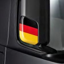 Spiegelkappen -blende Deutschland Flagge Actros 4 Original Mercedes-Benz NEU