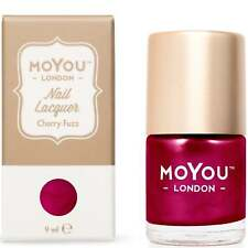 MoYou London Stamping Nail Lacquer - Cherry Fuzz 9ml