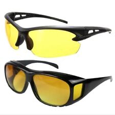 Night View Driving Glasses with Free Yellow HD Wrap Around