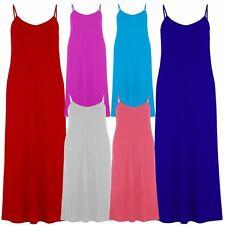 Viscose V-Neck Casual Sleeveless Dresses for Women