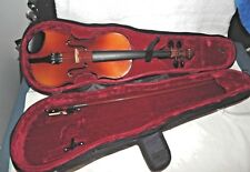 "HEIMER 1/2 VIOLIN w CASE 20 1/2"" Long VG -Exc Condition"