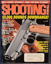 Magazine SHOOTING TIMES, July 1998 ! REMINGTON Model 597 .22 LR Semiauto RIFLE !