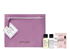 Philosophy 4 Piece Bestsellers set +wash Bag WORTH £15 Brand New