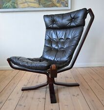 Mid-Century Danish Falcon Chair, Sigurd Ressel. 1970s.