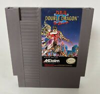 Double Dragon II: The Revenge Nintendo Game Cartridge with Dust Cover