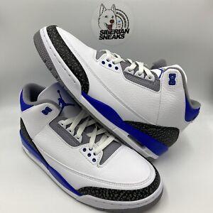 Nike Air Jordan Retro 3 Racer Blue 2021 CT8532-145 & 398614-145 Men's & GS Sizes
