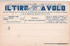 """# """"IL TIRO AL VOLO"""" - testatina JOURNAL OFFICIEL POUR LES ACTES DE LA FEDERATION"""