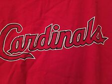 ST. LOUIS CARDINALS T-shirt ADIDAS Adult Large 2004 World Series Red MLB EUC