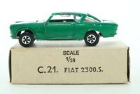 """Lone Star Roadmasters """"Impy"""" Flyers Super Cars Fiat 2300s - England"""