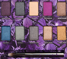 Urban Decay Mariposa EyeShadow Palette (skimp gunmetal rockstar) New in Box