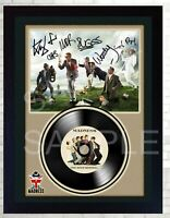 NEW! Madness One Step Beyond MUSIC  SIGNED FRAMED PHOTO LP Vinyl Great Gift