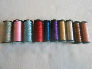 Kreinik Assorted Sizes Grab bag of 10 - Colours may vary