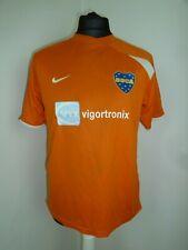 BOCA JUNIORS FOOTBALL SHIRT Orange Nike #7 Size Medium