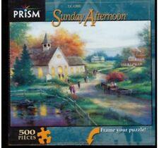 "Prizm Sunday Afternoon T.C. Chiu 500 piece Jigsaw Puzzle 19"" x 14"""