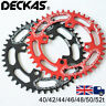 40/42/44/46/48/50/52t  Narrow Wide AL7075 MTB Bike Chainring 104BCD Chain Ring