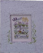 May: A Year In Stitches Cross Stitch Chart w/Button by Shepherd's Bush