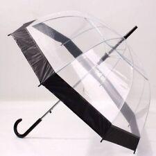 Clear Dome Umbrella Wedding Rain Transparent Parasol