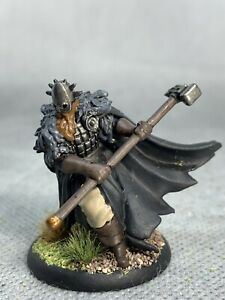 Knight with Greathammer Painted Miniature for D&D or Pathfinder Fantasy RPG