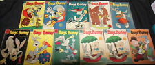 VINTAGE GOLDEN AGE DELL BUGS BUNNY COMIC LOT 11PC (VG-F)