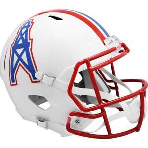 HOUSTON OILERS 1981-98 Riddell Throwback Replica Football Helmet