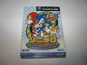 Sonic Mega Collection Japanese Nintendo GameCube Japan import US Seller