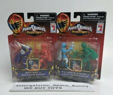 "Power Rangers Mystic Force 3"" Red Ranger Wolf King Blue Green Sealed MOC"