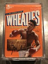 Muhammad Ali Mini Wheaties Box - 75 Years of Champions 24K Gold Signature