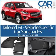 Mazda CX-5 5dr 2012-16 UV CAR SHADES WINDOW SUN BLINDS PRIVACY GLASS TINT BLACK