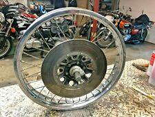 """Suzuki GS550 19"""" Front Wheel, Axle, Hub, Brake Disc GS400 GS450 GS750 GS1000"""