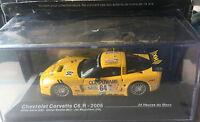 """DIE CAST """" CHEVROLET CORVETTE C6.R - 2005 """" 24 HEURES DU MANS SCALA 1/43"""